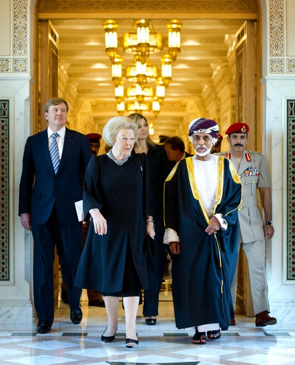 Maurits Hendriks Netherlands Prime Minister Mark Rutte L: Oman: Guess Who Is Coming To Dinner