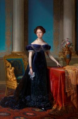 Klein - 1. Staatsieportret van Anna Paulowna, F.J. Kinsoen, 1824. Collectie Koninklijke Verzamelingen, Den Haag