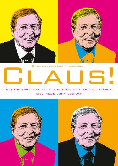 Voorkant flyer Claus 2016