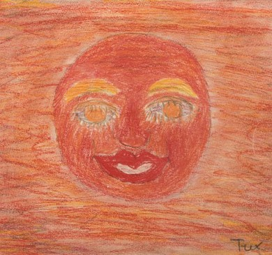 Afbeeldingsresultaat voor tekening beatrix jeugd zon