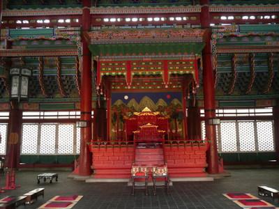 Gyeongbokgungtroon